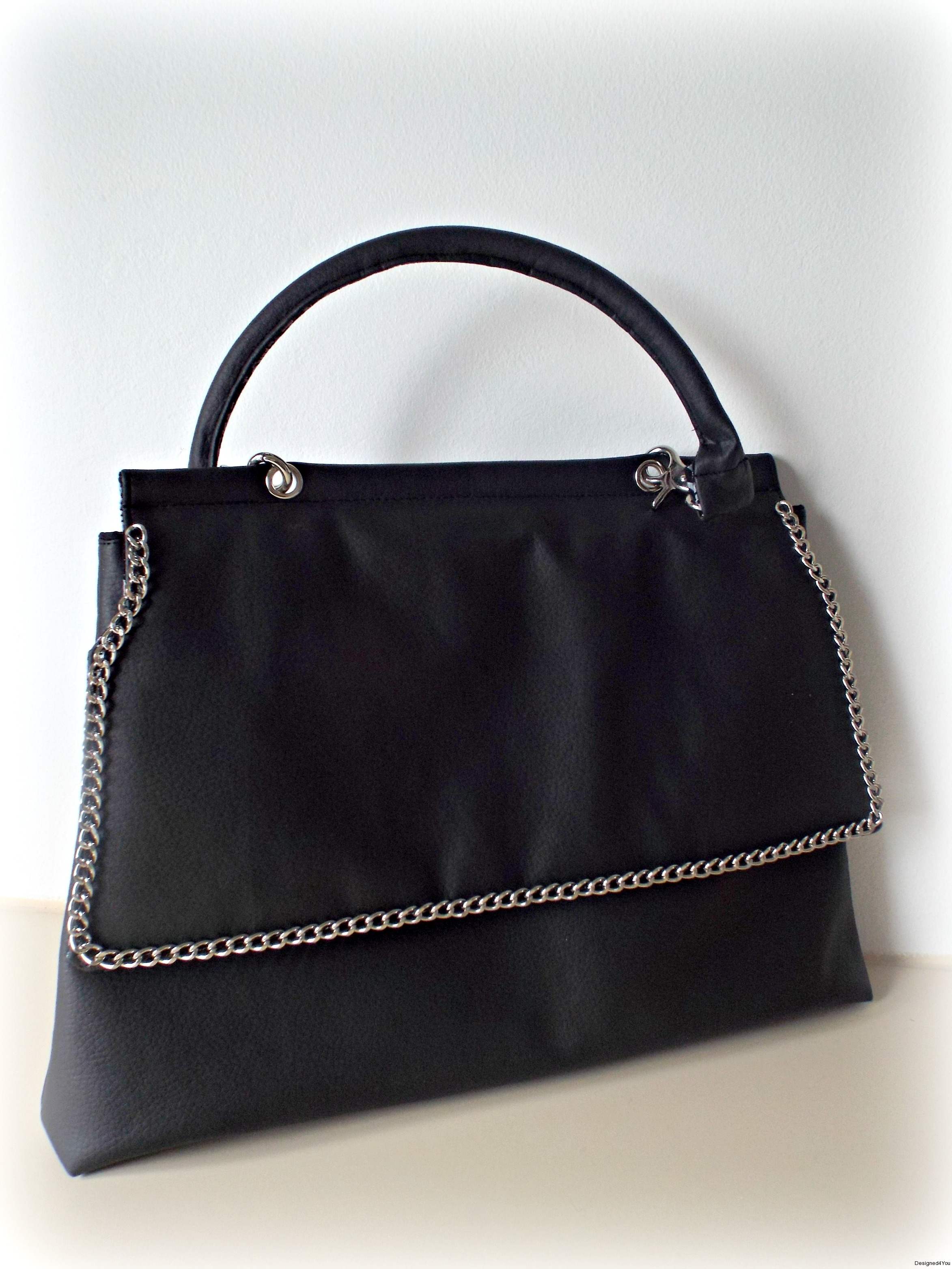 Madison-Tote-Black-Silver1