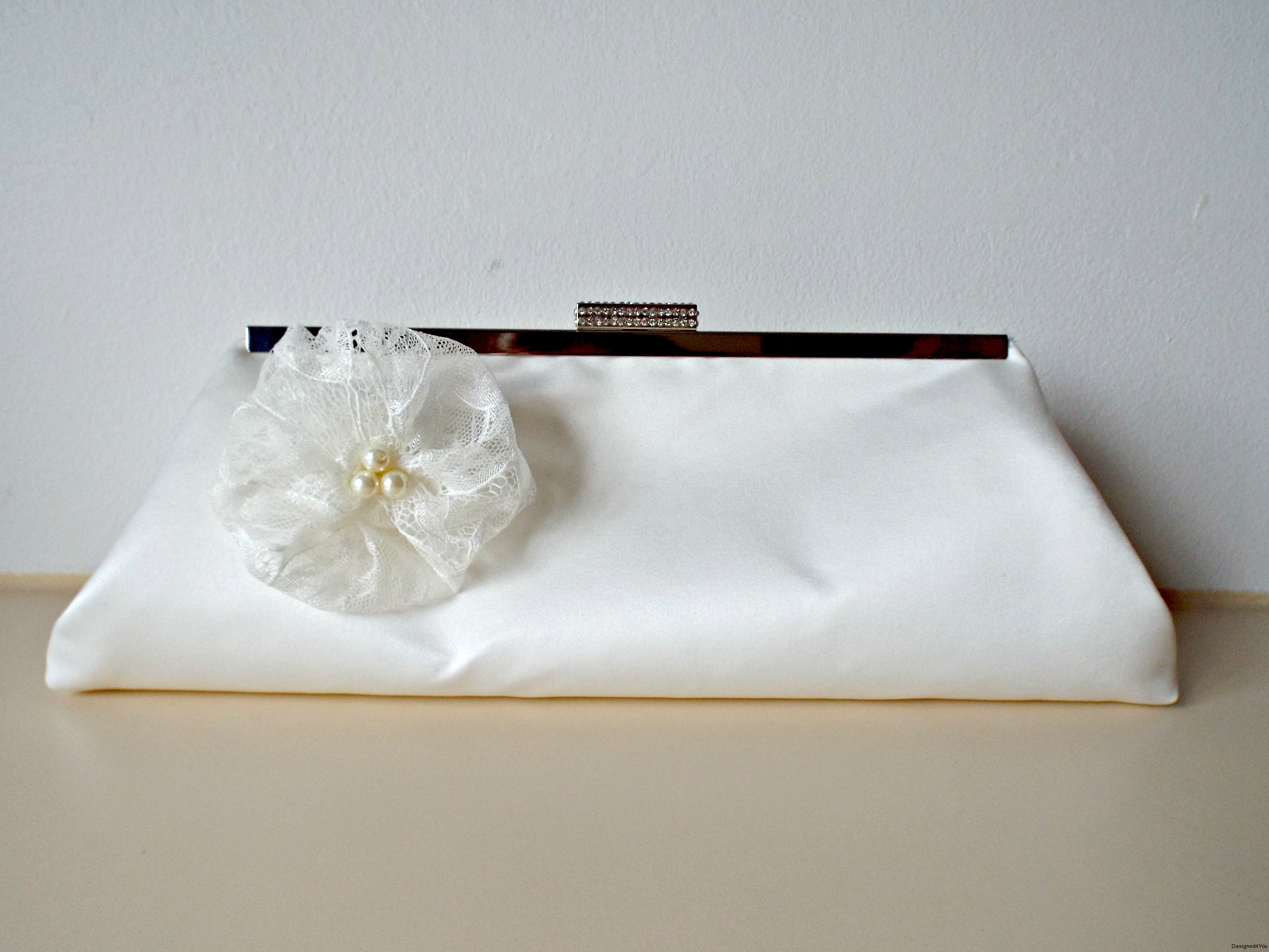 Sophie-Bridal-Ivory-Satin-Handmade-Clutch-with-Lace-Flower