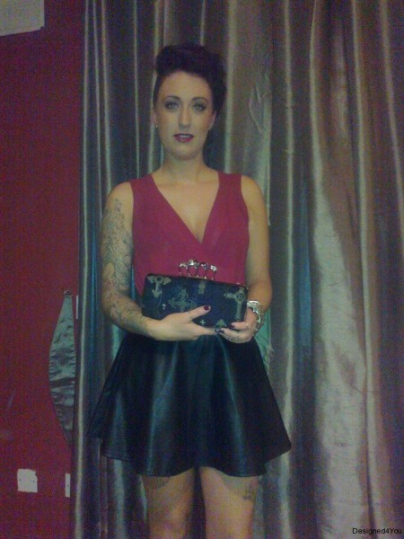 Gothica Clutch bag, customer photo