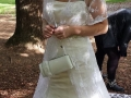 Bridal clutch bag ivory ireland