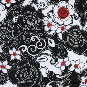 Poppy Land-floral black