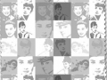 Audrey Hepburn BW Fabric