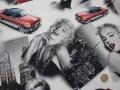 Marilyn Red Car - Fabric