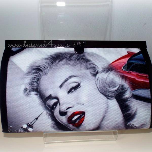 Handmade Marilyn Monroe Red Car Wallet - Made in Ireland