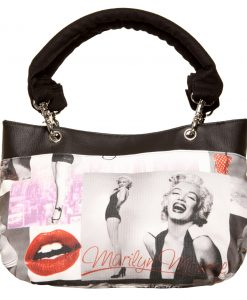 Destiny Handbag, Irish – Handmade to Order – Marilyn Monroe Fabric