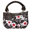 Destiny Handbag, Irish – Handmade to Order – Poppy Flower Fabric