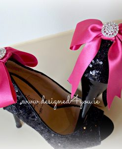 Handmade sweet bow shoe clips