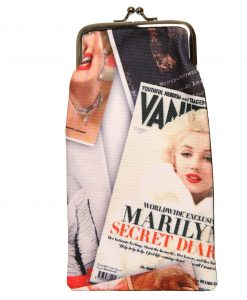 Sunglasses case Marilyn Monroe – handmade Designed 4 You