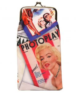 Sunglasses case Marilyn Monroe  – handmade by Designed 4 You