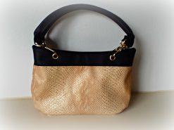 Destiny handmade handbag nude leather
