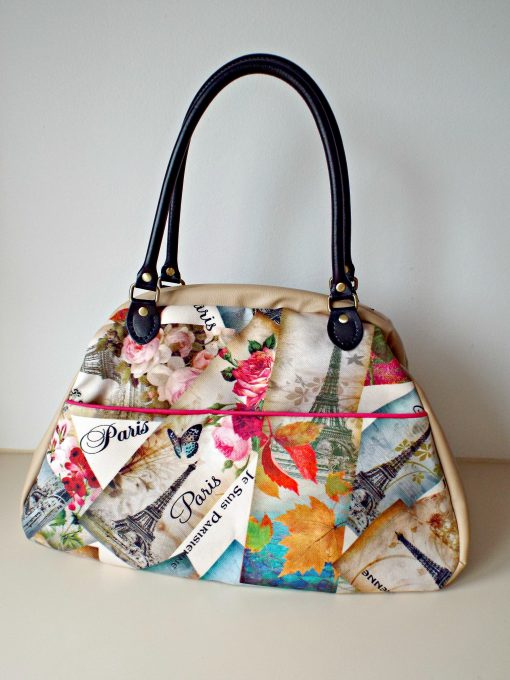 Carpet Bag made in Ireland Vintage fabric