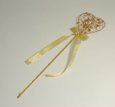 Gold Flower Girl Wand for Sale Dublin Ireland