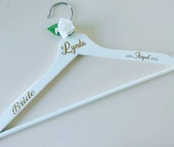 Personalised Bridal Hanger Ireland