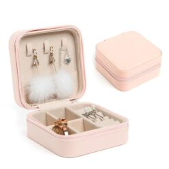 Travel jewellery box storage