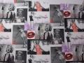 Marilyn Monroe-Coral Fabric