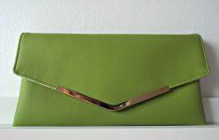 Lime leather clutch bag ireland dublin