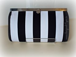 Handmade Monochrome fabric Wallet In Ireland