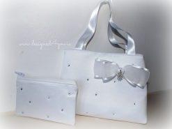 Flower girl or Communion bag purse set