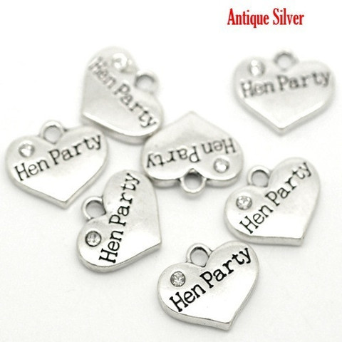 Hen Party Wine Glass Charm Ireland