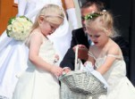 Flower girl Wands & Baskets
