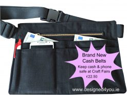 Cash belts for crafters & traders