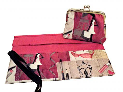 Make Up Bag & Brush Roll Sets