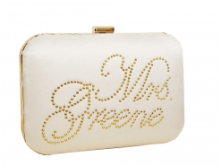 Personalised bridal clutch bags ireland & uk