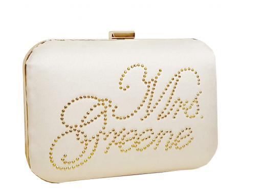 Personalised bridal clutch bags ireland & uk