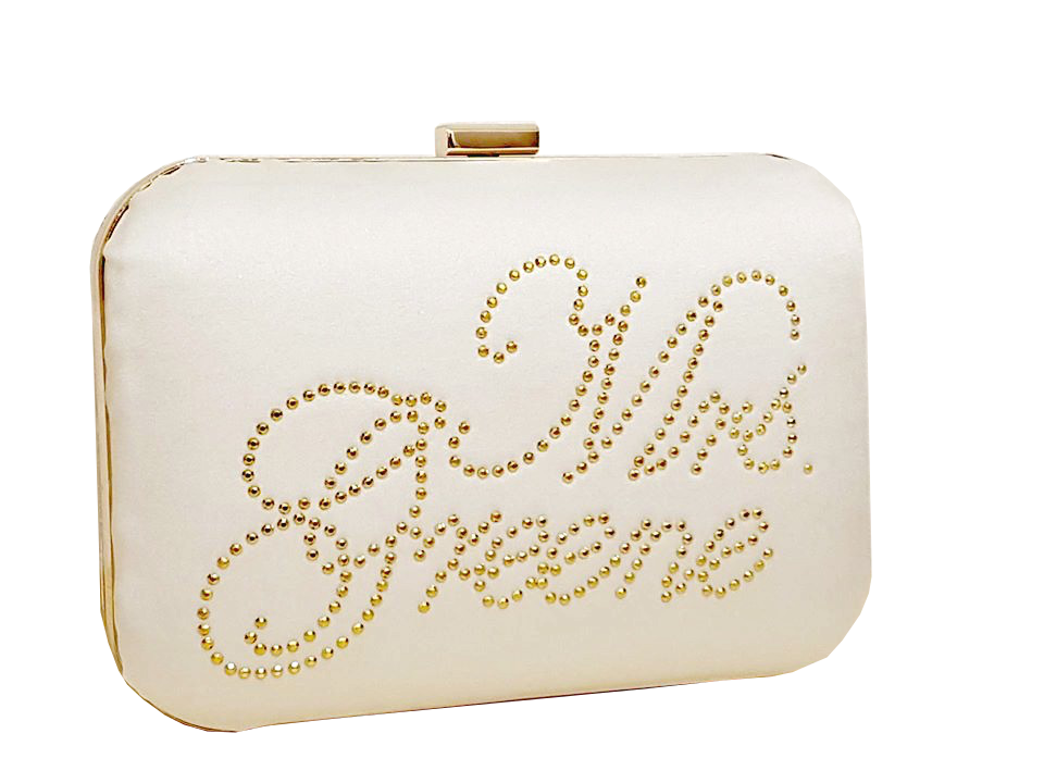 comfortable feel release info on select for clearance Personalised Rosa Bridal Clutch