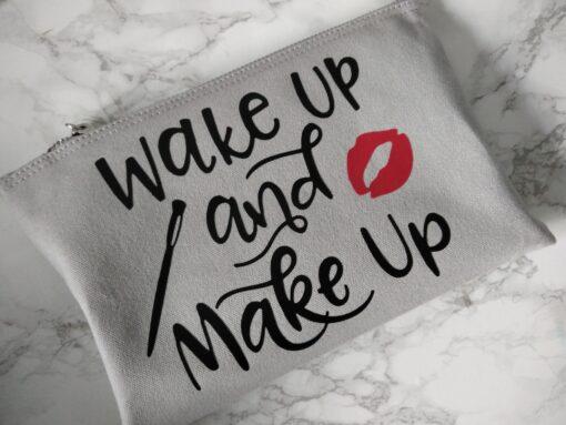 Wake up & Make up Make up canvas bag - Ireland