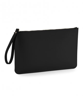 Accessory pouch clutch bag personalised