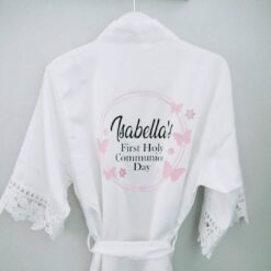 Personalised Communion Day Robe Ireland