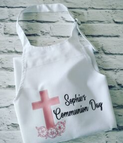 Personalised Communion Day Apron